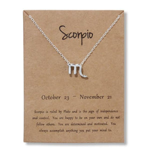 Zodiac Necklace - Pwrfull