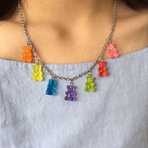 Gummy Bear Necklace - Pwrfull
