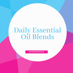 Daily Essential Oil Blends #17 Migraine Help