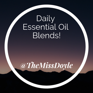 Daily Essential Oil Blends #8