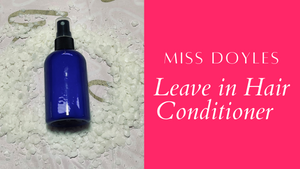Leave in Conditioner Spray formulations Excel Download