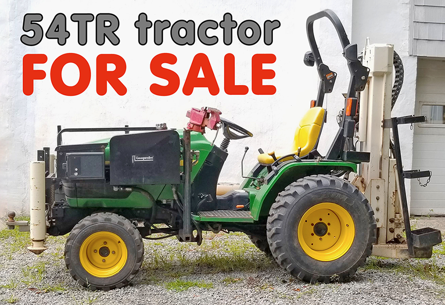 Used Geoprobe 54TR Tractor For Sale