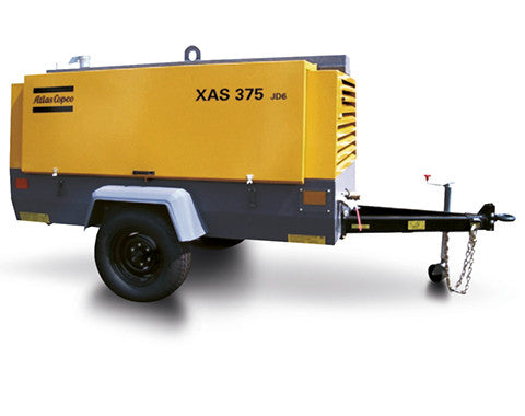 Atlas Copco XAS 375 CD6 Air Compressor