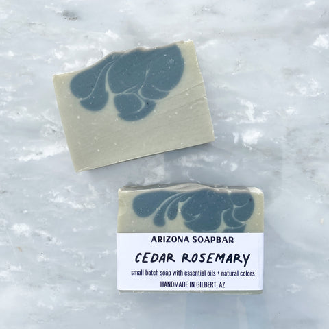 Cedar Rosemary Bar Soap