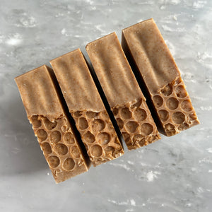 Honey Oat soap bar
