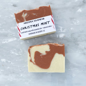 Christmas Mint Bar Soap