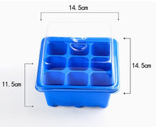 Load image into Gallery viewer, 1PCS double-layer seedling box planting special seedling tray 9-hole household bonsai plant planting germination
