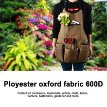 Load image into Gallery viewer, Flowery Garden Apron