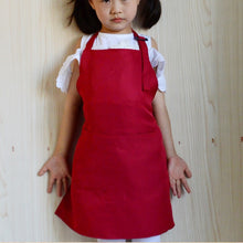 Load image into Gallery viewer, Multifunctional Baby Girl Boy Aprons Kitchen Lunch Garden Kid's Aprons Keep Cleaning Pinafore ST0616