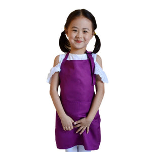 Multifunctional Baby Girl Boy Aprons Kitchen Lunch Garden Kid's Aprons Keep Cleaning Pinafore ST0616