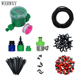 wxrwxy Garden irrigation system Watering kit gardening tool kit misting system garden Sprinkle water nozzle 1 set