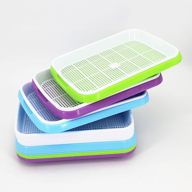 Vegetables Sprouts Seedling Tray Sprout Plate Hydroponics System To Grow Nursery Pots Tray Vegetable Seedling Pot