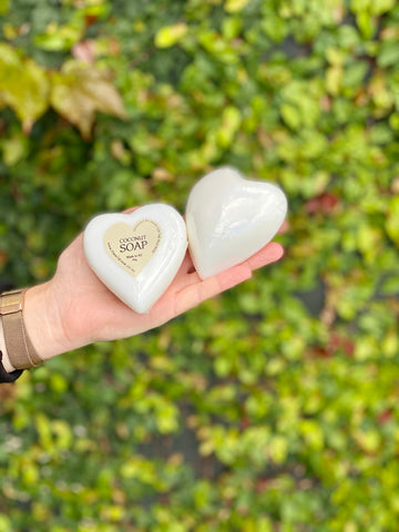 Coconut White Heart Soap