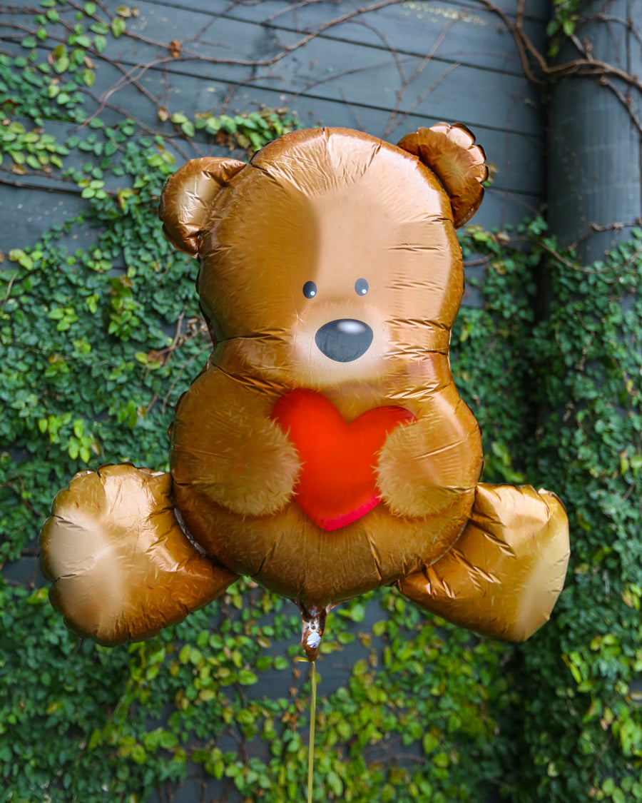 Teddy Bear Helium Balloon