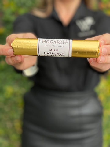 Hogarth Milk Hazelnut Chocolate Log