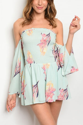 Blossom Floral Romper