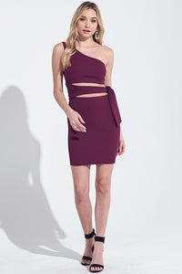 One Shldr Bodycon
