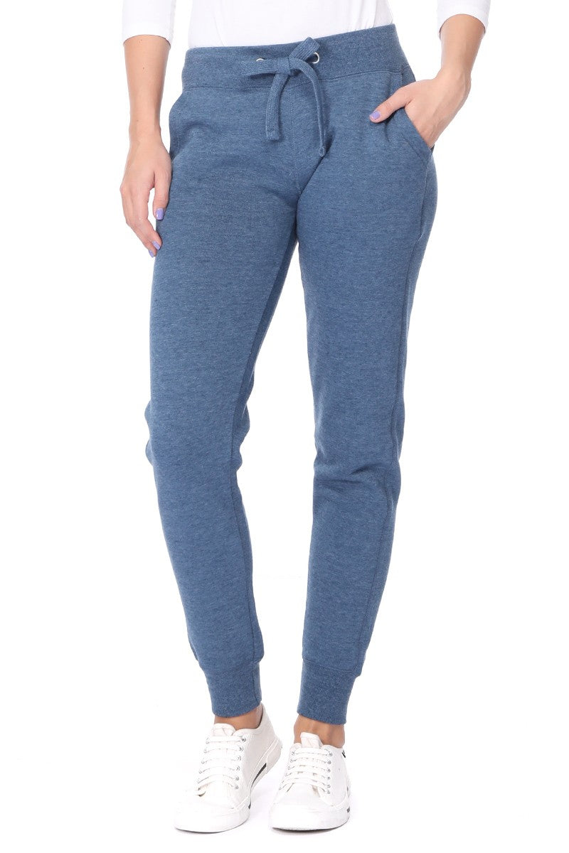 Basic Solid Fleece Jogger