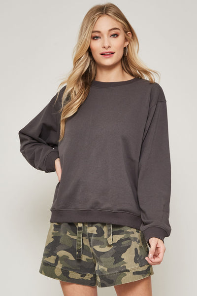 French oversized sweatshirt