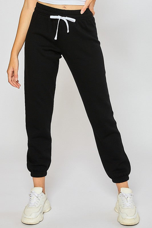 Basic fleece sweatpants