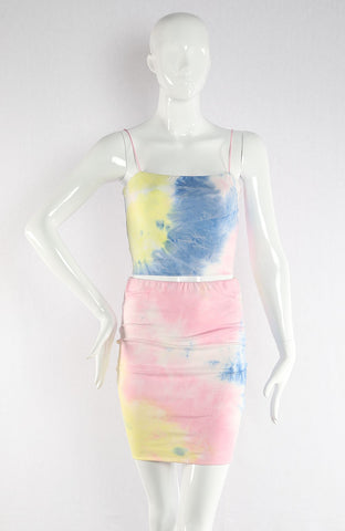 DONNA TIE DYE BODYCON SET