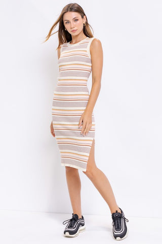 Sleeveless Multicolor Dress