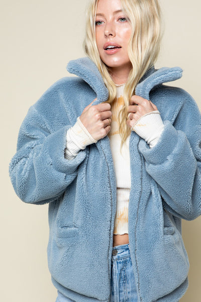 Teddy Bear Oversize Jacket