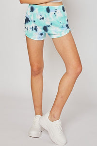 Basic Terry Tie Dye Shorts