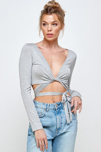 Wrap Around Crop Top