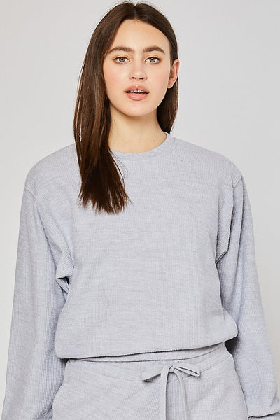 Basic Cord Sweatshirt