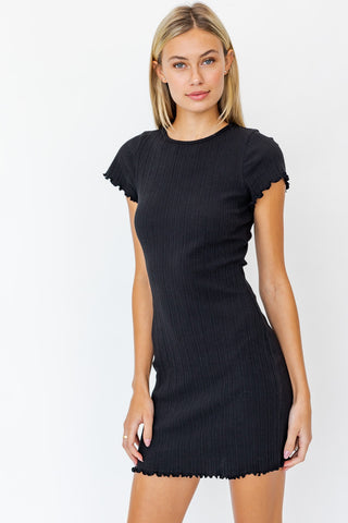 Merrow Finish Bodycon Dress