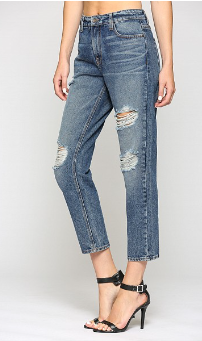 Bailey Hi Rise Slim BF Jeans
