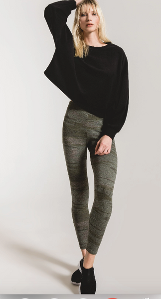 The Camo Mod knit Legging