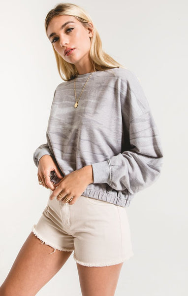 The Camo Relaxed Pullover