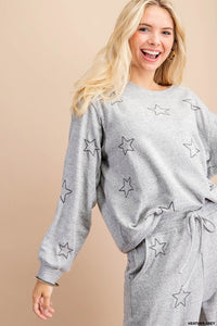 Star Embroidered top