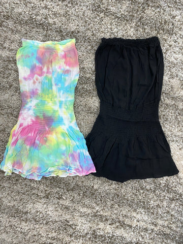Cori Strapless Skort Dress