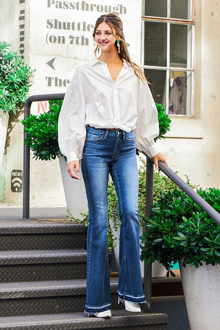 FM High rise flare jeans