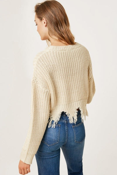 Shredded Cardigan