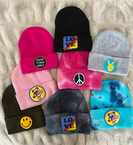 Patch Beanies Hats
