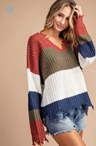 EE:some chunky knit sweater