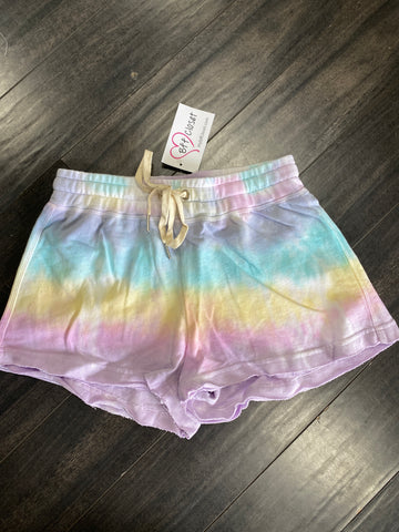 Tie Dye Adjustable Shorts