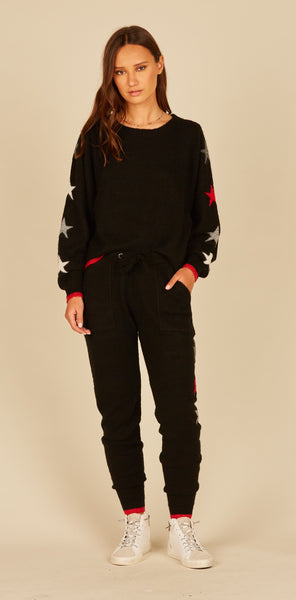 Star Novelty Knit Jogger