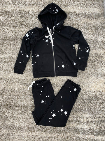 Faith Star Zipper Hoodie Stars