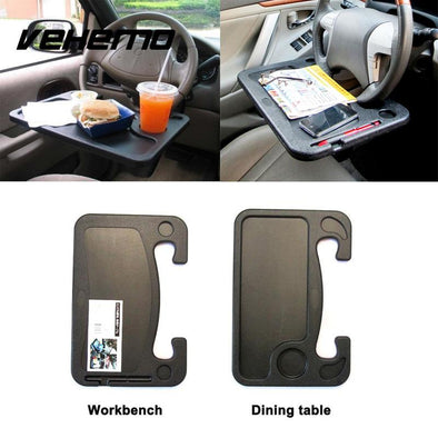 Wheelmate Steering Wheel Table For Easy Eating and Working In The Car - full use gadgets