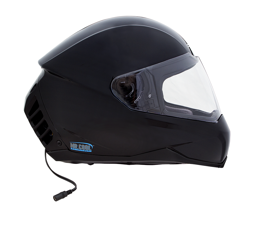 ach 1 air conditioned motorcycle helmet gloss black feher helmets