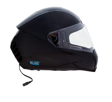 Air Conditioned Helmet in Gloss Black
