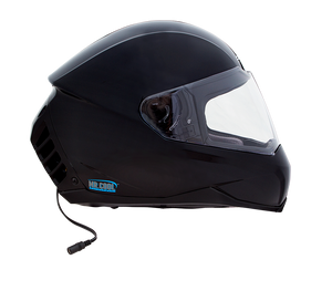 Open image in slideshow, Air Conditioned Helmet in Gloss Black