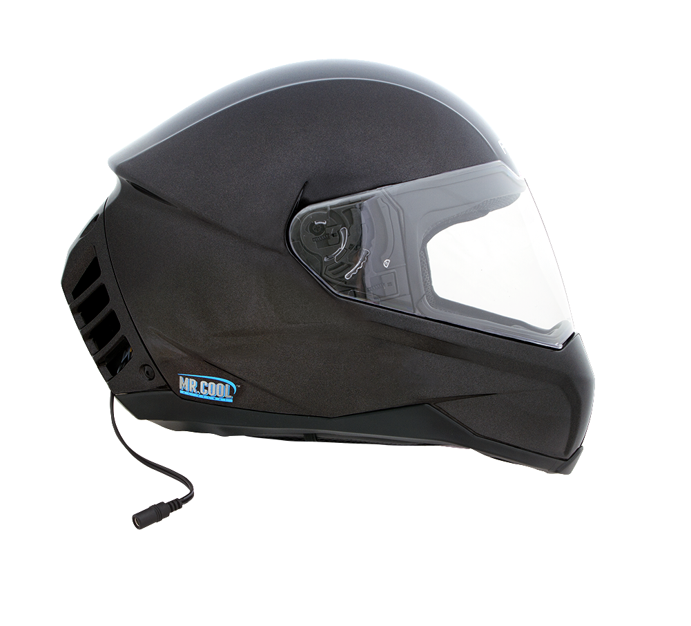 New ACH-1 | Air Conditioned Motorcycle Helmet - Gun Metal – Feher Helmets &FR81