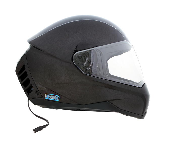Air Conditioned Helmet in Gun Metal
