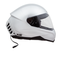 Air Conditioned Helmet in Silver